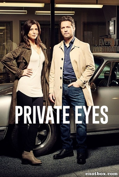 Частные сыщики (1 сезон: 1-10 серии из 10) / Private Eyes / 2016 / ПМ (Baibako) / HDTVRip + HDTV (1080p)