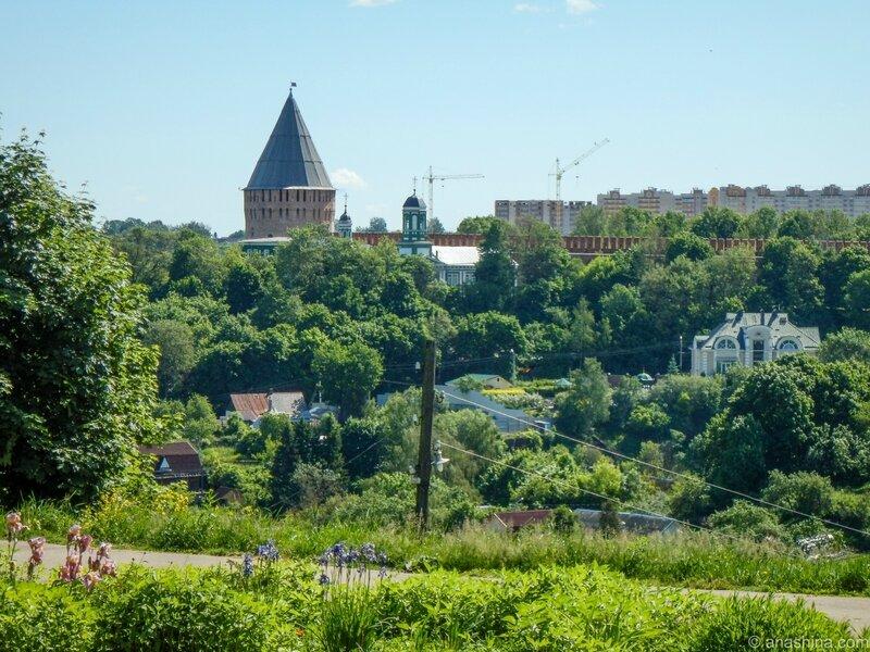 Башня Веселуха, Смоленская крепость, Смоленск