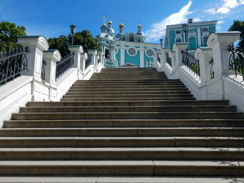 Лестница к Успенскому собору, Смоленск