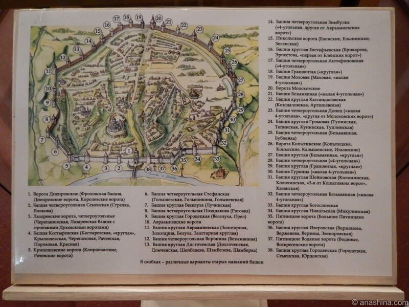 Стены и башни Смоленской крепости