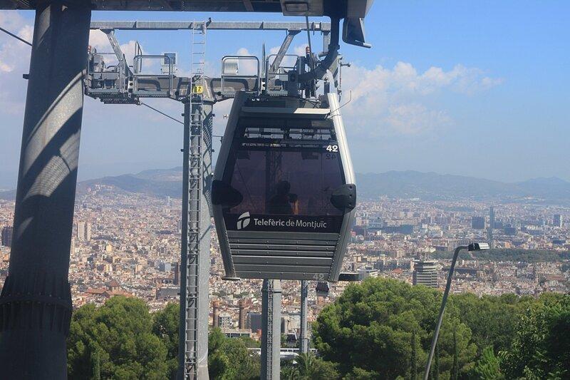 Барселона - канатная дорога (Barcelona – cableway)