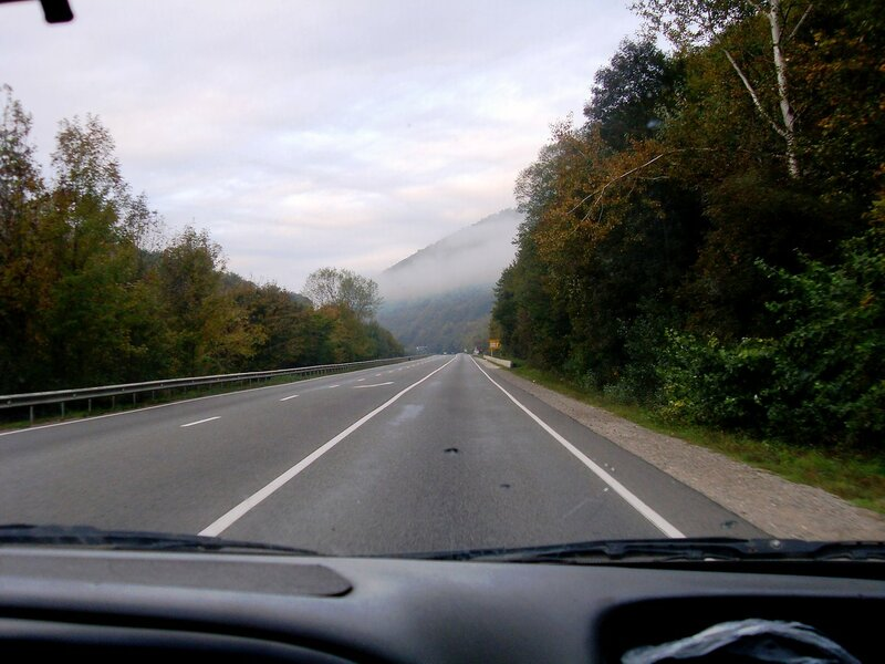 В час утренний, дорога ... SDC15369.JPG