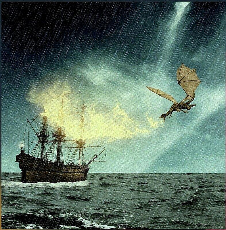 Море, буря и дракон. Из ин-та. Художник Н-ской (2).jpg