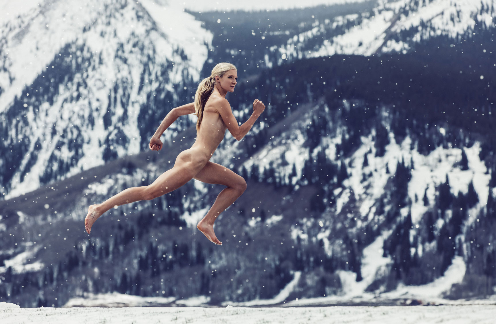 ESPN Magazine The Body Issue 2016 - Emma Coburn / Эмма Коберн - Культ тела журнала ESPN