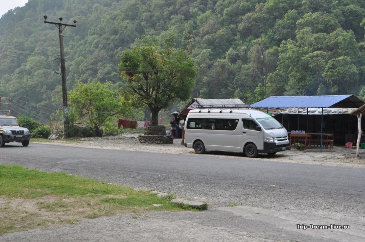 Заказали машину, а за нами прислали целый микроавтобус
