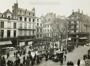 1918. Разрушения в квартале Сен-Поль 12 апреля