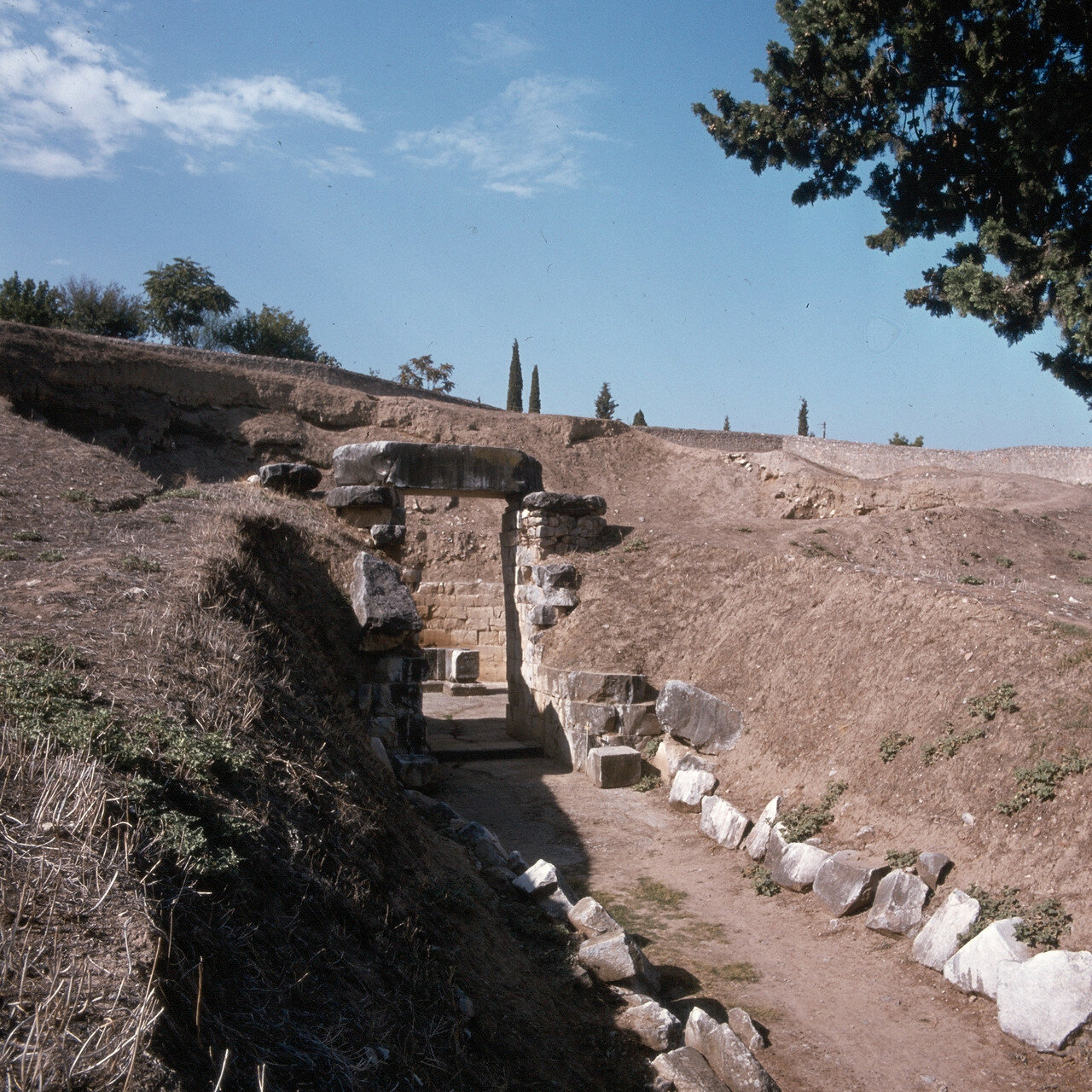 Орхомен. Гробница царя Миния, обнаруженная Генрихом Шлиманом. XIV в. до н.э.