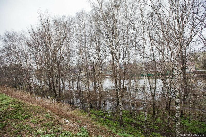 Земляные валы. Красная площадь. Переславль-Залесский.