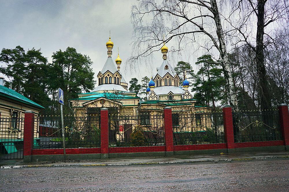 Троицкий храм в поселке Удельная Раменского района Московской области