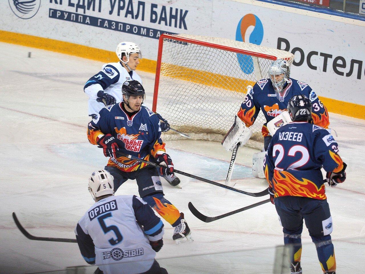 14Плей-офф МХЛ 2016 1/4 Стальные Лисы - Сибирские Снайперы 21.03.2016