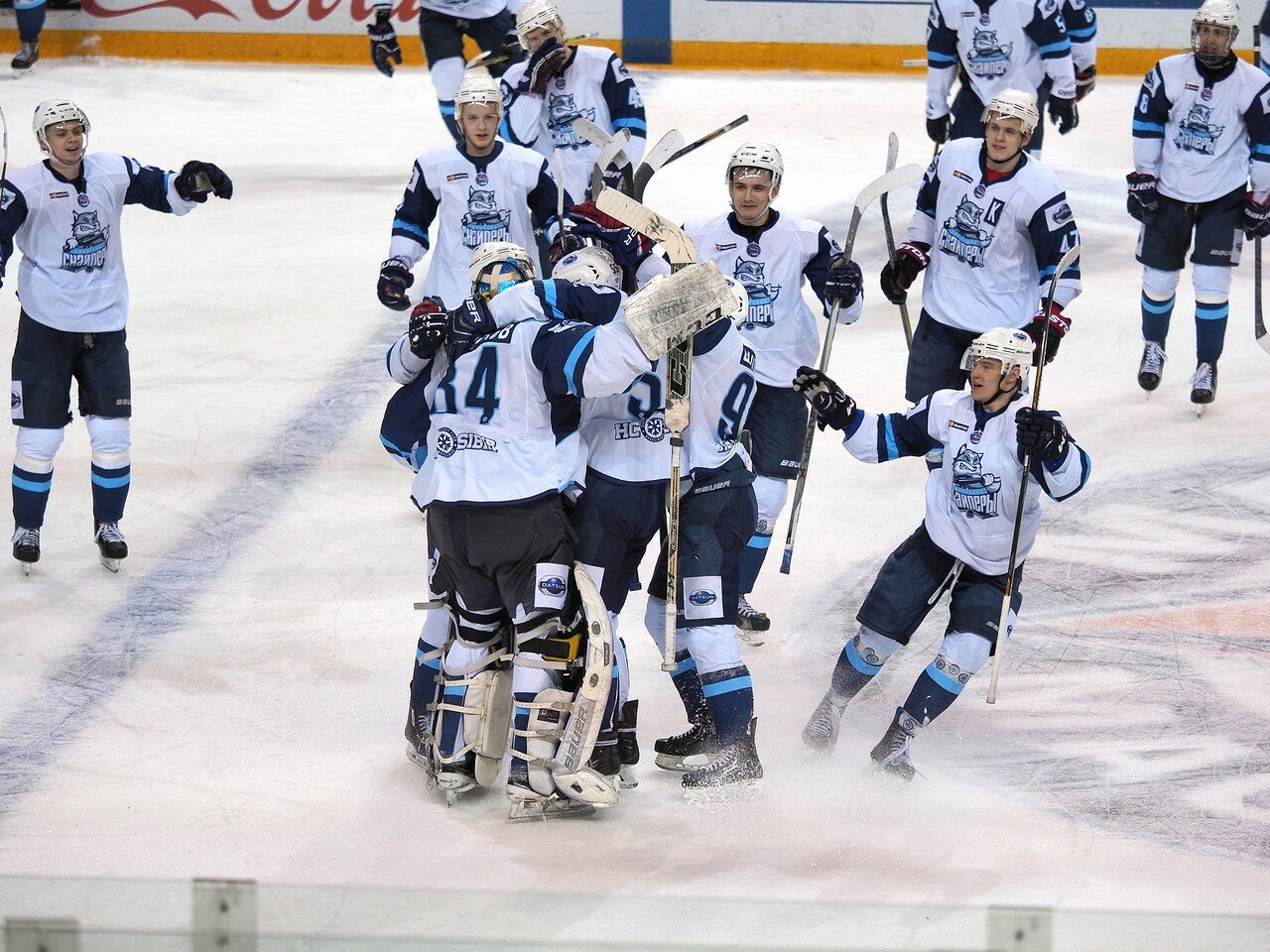 72Плей-офф МХЛ 2016 1/4 Стальные Лисы - Сибирские Снайперы 21.03.2016