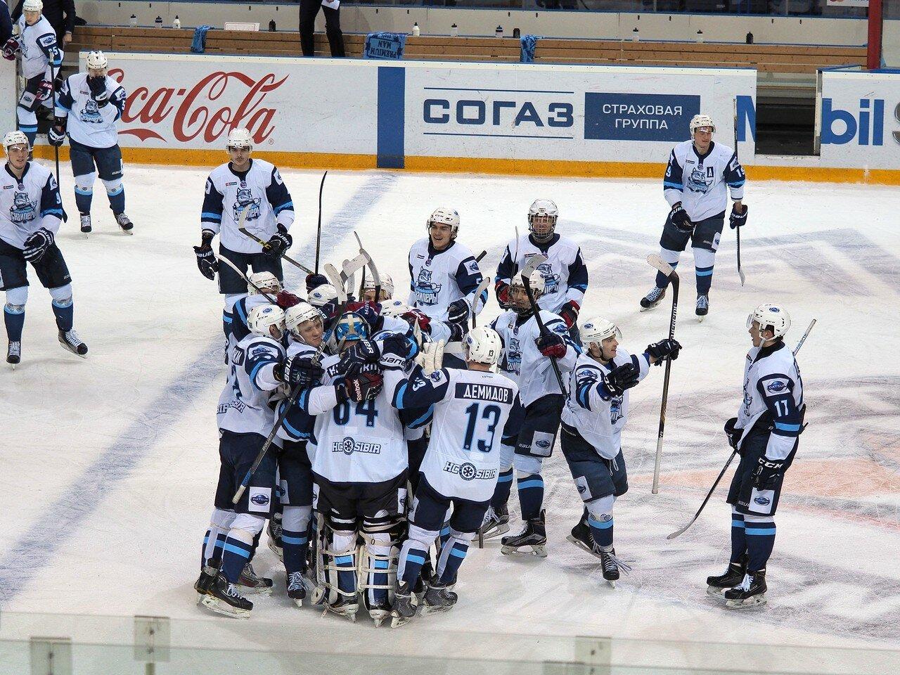 73Плей-офф МХЛ 2016 1/4 Стальные Лисы - Сибирские Снайперы 21.03.2016