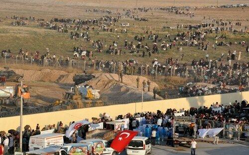На границе Турции задержаны беженцы с поясами шахидов