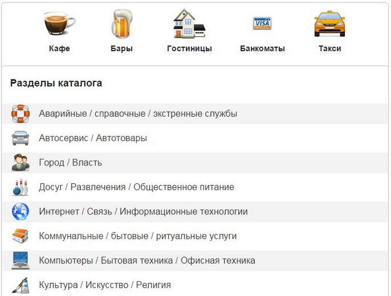 Справочник организаций «Bizspravka»