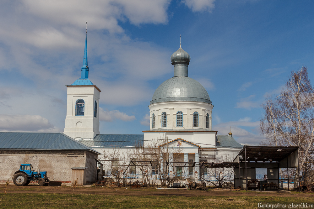 Церковь Владимирской иконы Божией Матери в Бетьках.