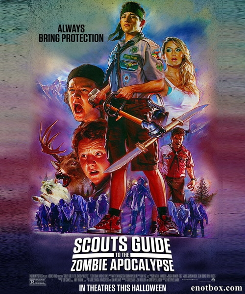 Скауты против зомби / Scouts Guide to the Zombie Apocalypse (2015/WEB-DL/WEB-DLRip)