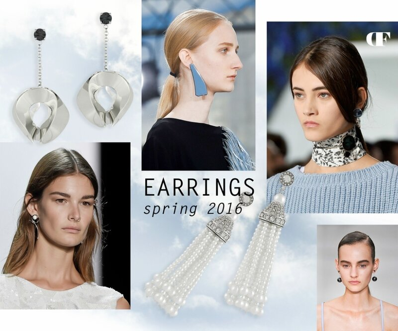 EARRINGS, SPRING-SUMMER 2016