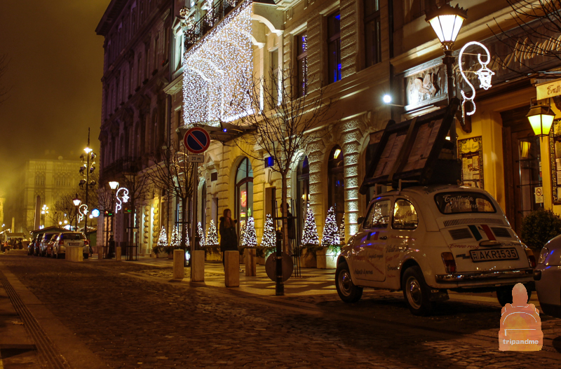 Праздничная иллюминация в Будапеште радует глаз
