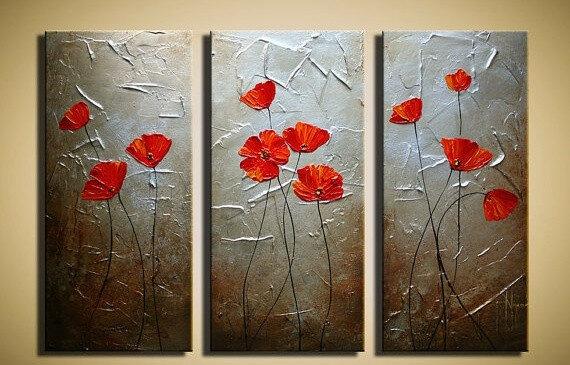 Картины составные на стену. История стиля Moder Art