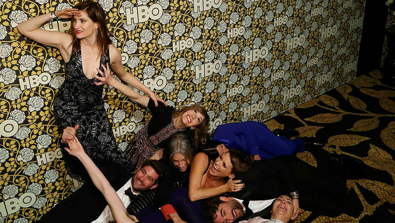 Бесстыдные фото. Звезды на вечеринке после «Золотого глобуса»