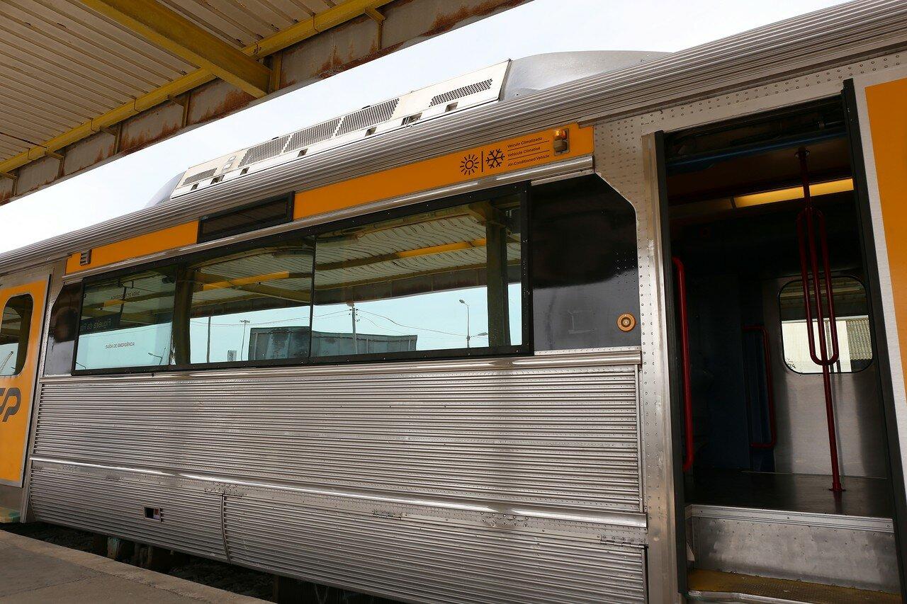 Португальские железные дороги. Региональный поезд