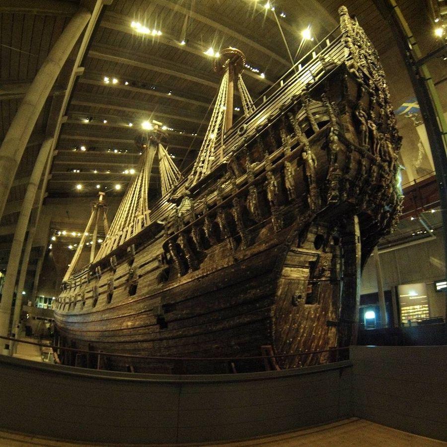 9. Музей Ваза (Стокгольм, Швеция) Самый посещаемый музей Скандинавии был построен вокруг корабля «Ва