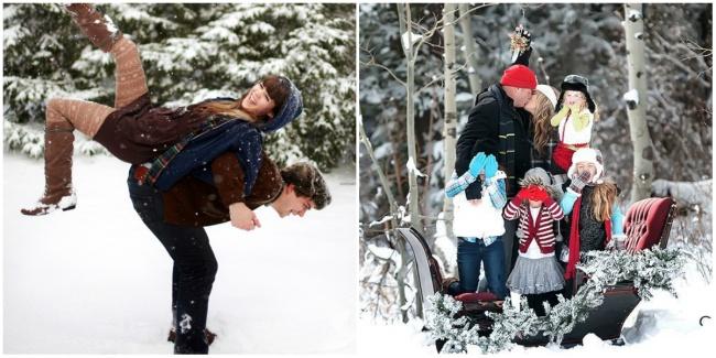Снеговики, снежки, санки— дурачьтесь ивеселитесь доупаду, ипозвольте каждому изчленов семейства