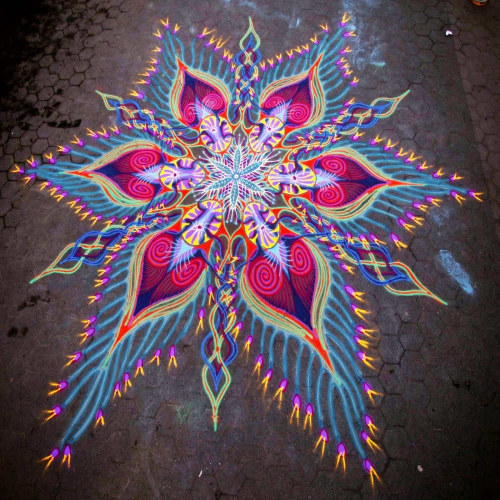 Художник, который рисует наперегонки светром