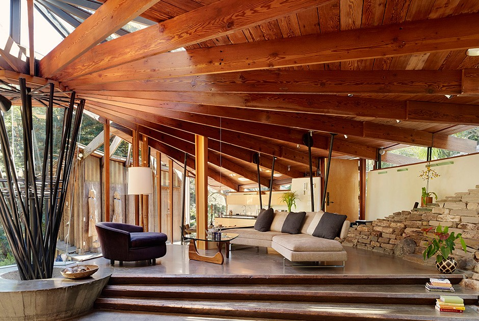Проект DWYER DESIGN Дом под названием Radius House был построен более 50 лет назад, но и сегодня выг