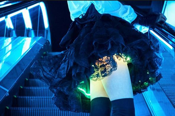 юбка с подсветкой