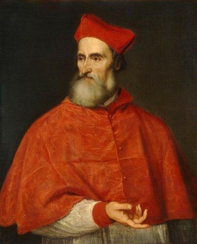 Портрет кардинала Пьетро Бембо.