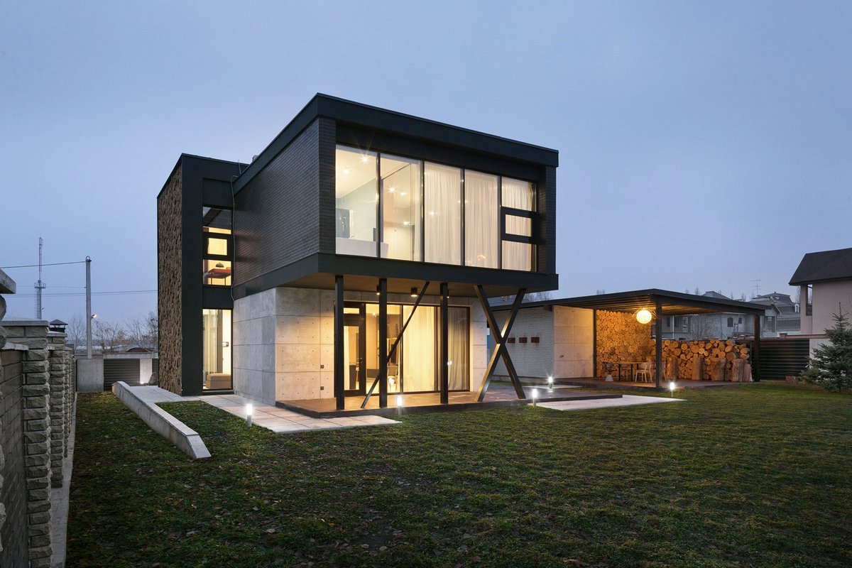 Типы дизайна домов