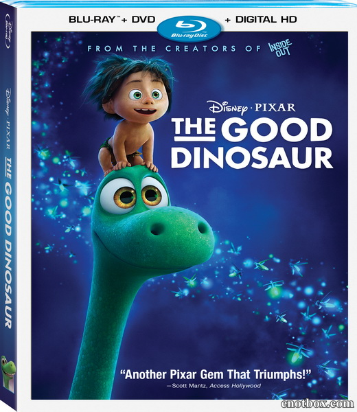 Хороший динозавр / The Good Dinosaur (2015/BD-Remux/BDRip/HDRip/PROPER)