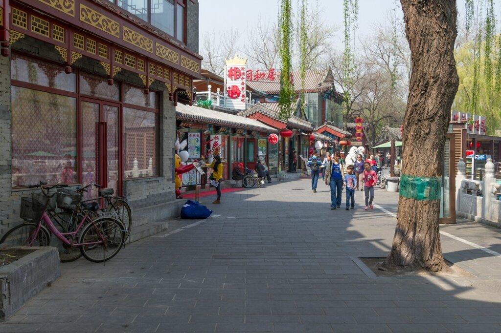 Западная набережная Цяньхай, Шичахай, Пекин