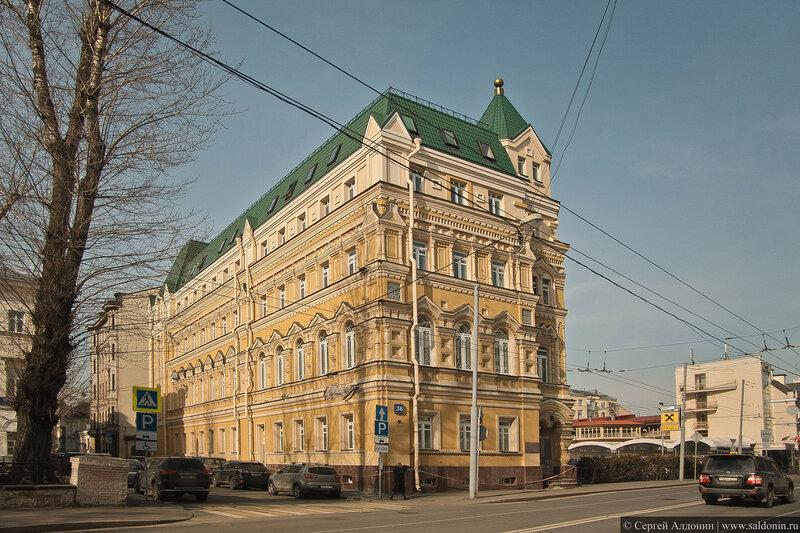 Улица Остоженка Дом 36