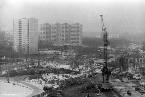 Начала строительства школы 1007 Фото от Руслана Зарипова #Солнцево