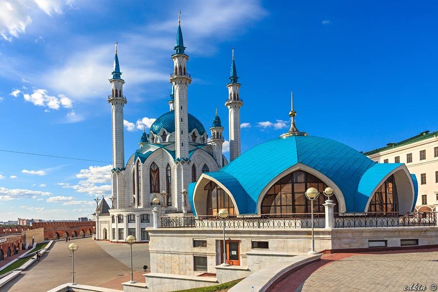 Казань, кремль, мечеть Кул Шариф