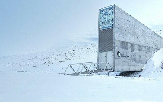 Всемирное семенохранилище Свальбард, о.Шпицберген