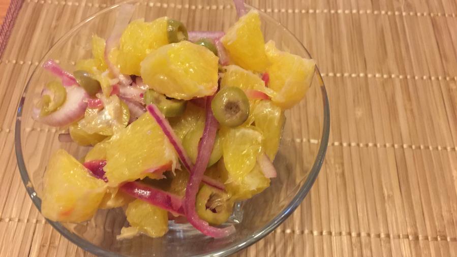 Салат Легко на желудке