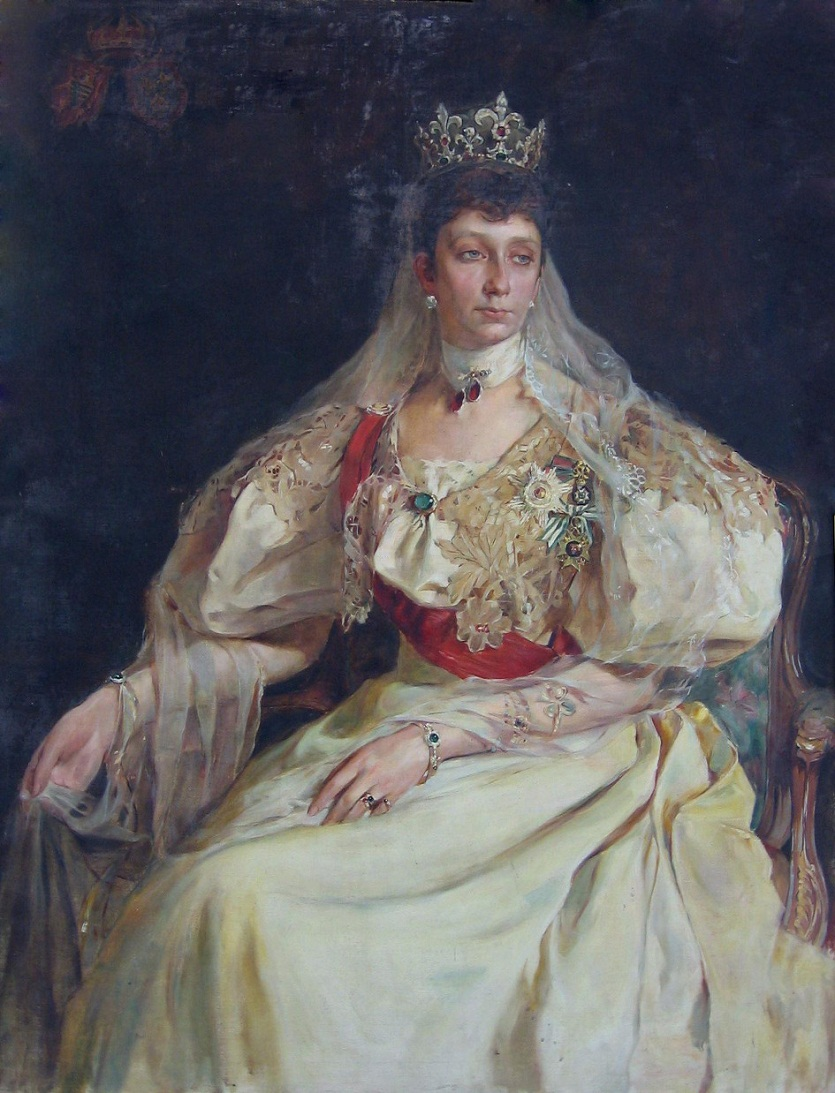 Портрет Княгиня Мария-Луиза Бурбон-Парма Болгарии (1870-1899)