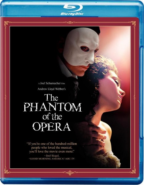 Призрак оперы / The Phantom of the Opera (2004/BDRip/HDRip)