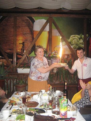 Именинники в кафе - баре Пивная Хата
