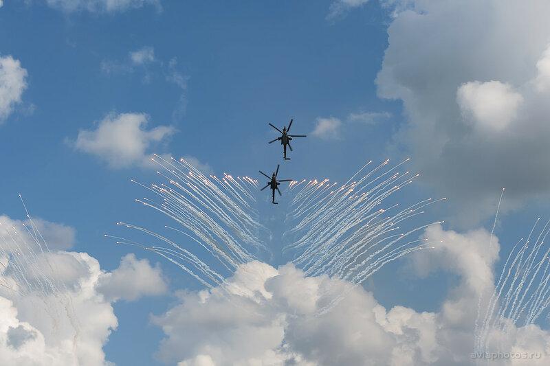 Миль Ми-28Н Пилотажная группа