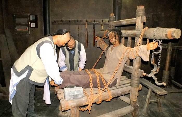 Жестокие пытки, которым раньше подвергали преступников