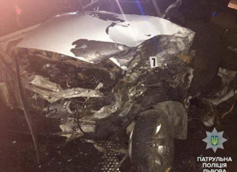 На Львовщине погиб водитель, которого уже дважды ловили пьяным за рулем (фото)