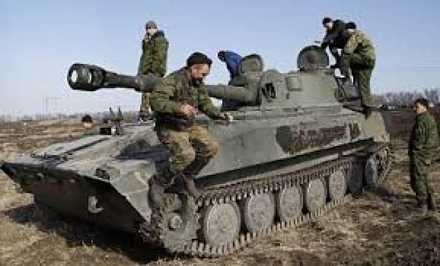 Российские оккупанты вчера били по позициям сил АТО на донецком направлении из 122-, 152- и 182-мм минометов, - пресс-офицер
