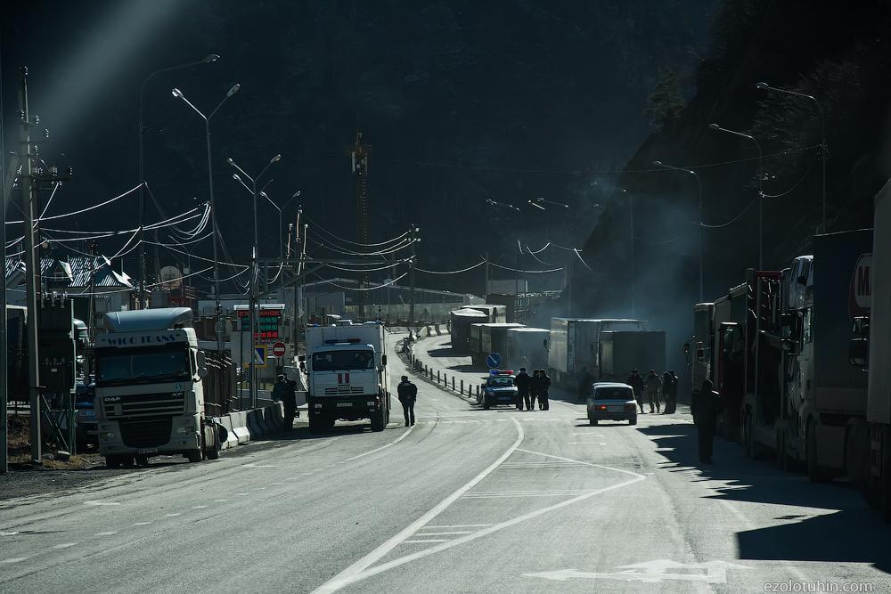 Ситуация на российско-грузинской границе