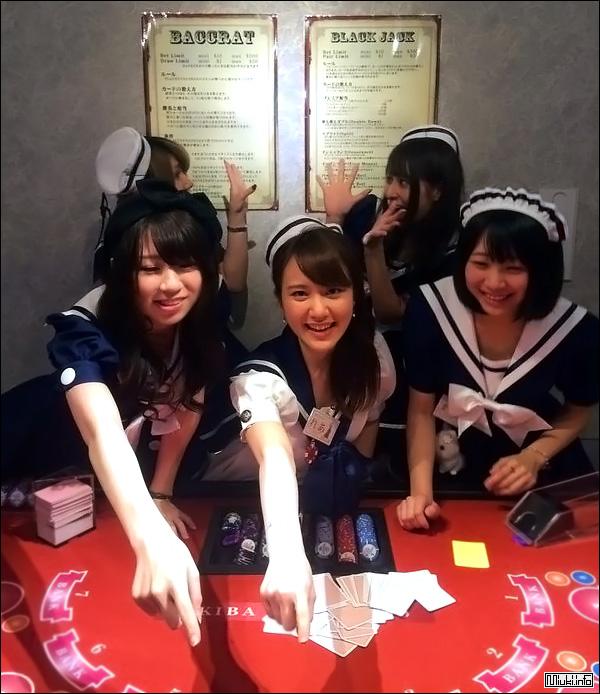 Akiba Guild. Покерный клуб в стиле аниме