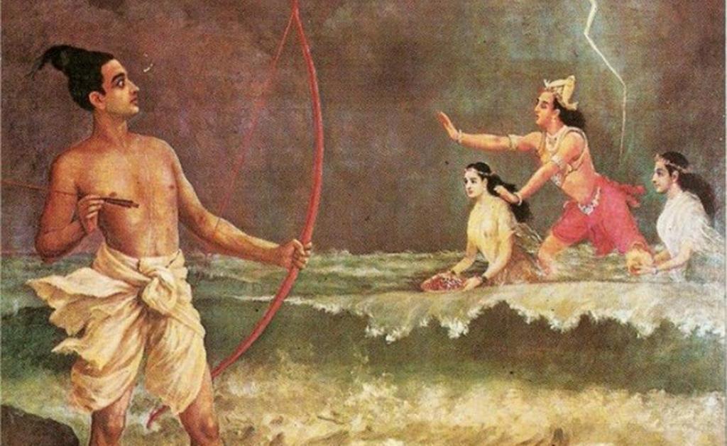 Пашупатастра считается чуть ли не самым мощным оружием во всей индуистской мифологии. Этот лук мог и