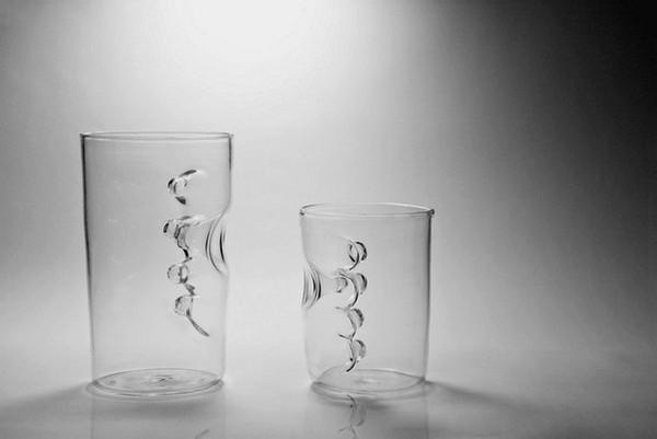 Дизайнер Fanson Meng позаботился, прежде всего, обудобстве. Изтаких стаканов точно нестанешь пить